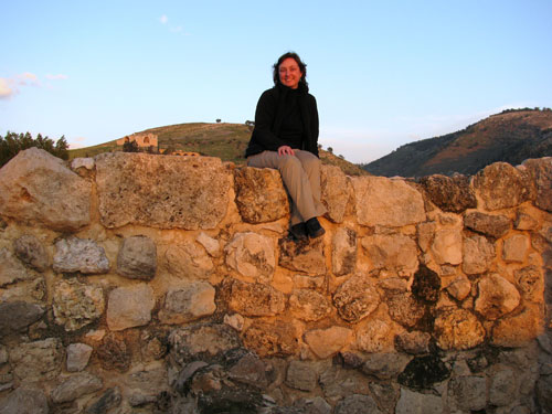 Wendy Reade at Pella, Jordan, in 2009