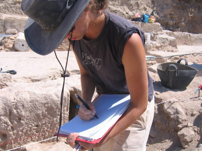 Archaeological planning, Paphos, Cyprus, 2007