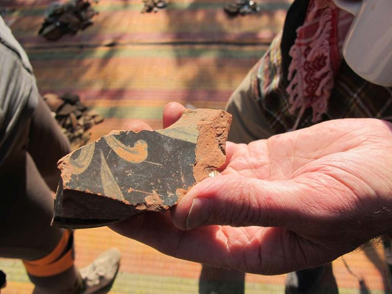 2400 year old Athenian pottery found in Jordan