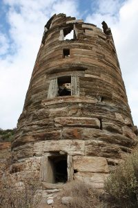 The ruin of the Hellenistic tower at Agios Petros (St Peter's); © AAIA; photo by Ivana Vetta
