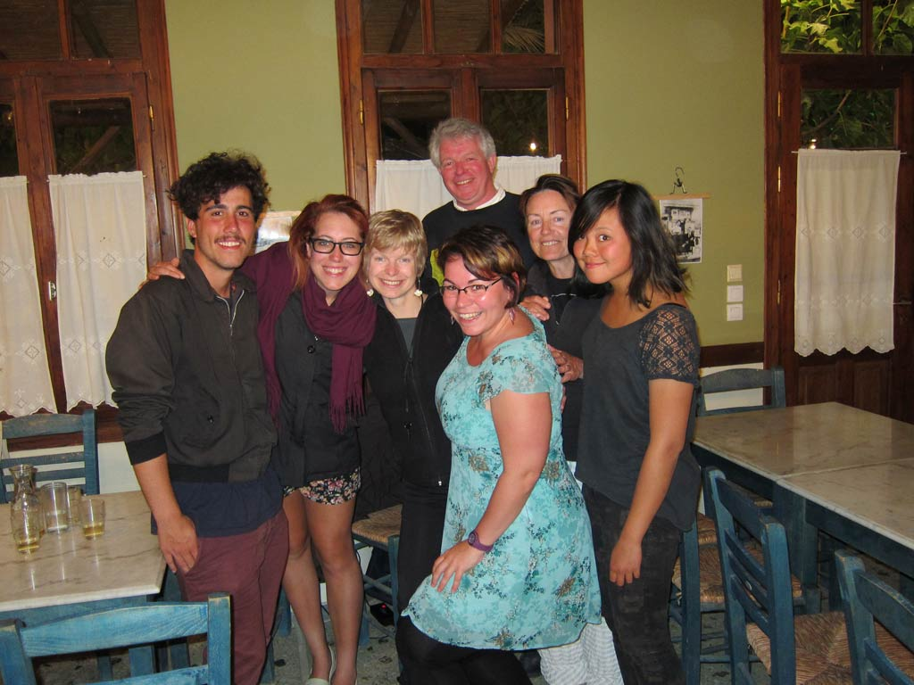 Zagora 2013 team members, from left: Rehan Scharenguivel, Tessa Morgan, Adela Sobotkova, Petra Janouchova, Andrew Wilson, Sue Jorgenson and Elaine Lin